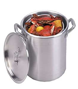 King Kooker Aluminum Boiling Pot by King Kooker
