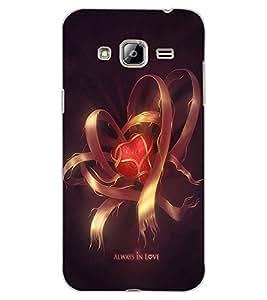 ColourCraft Love Design Back Case Cover for SAMSUNG GALAXY J3