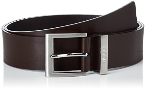HUGO C-Bud 10112630 01, Cintura Uomo, Marrone (Dark Brown 202), 90 cm