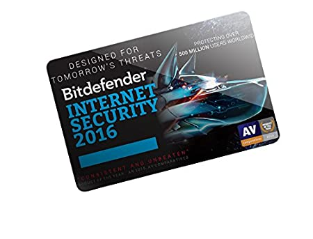 Bitdefender Internet Security 2016 - 2 Years - 1 User - POSA (PC)