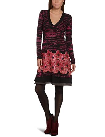 Desigual Stracciatella Women's Dress Fresa 10