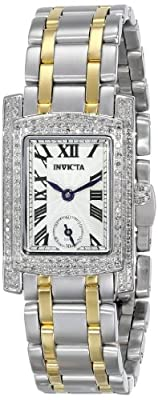 Invicta Women's 15627 Angel Analog Display Swiss Quartz Two Tone Watch