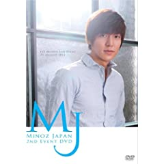 Minoz Japan 2nd Event (DVD+フォトブック)