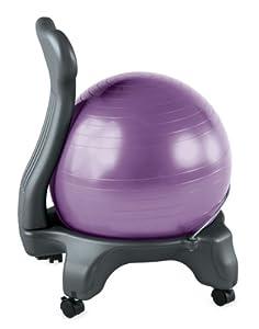 Amazon Gaiam Balance Ball Chair Black Exercise