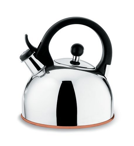 Copco Gismo 1-1/4-Quart Teakettle, Polished Stainless Steel with Copper Bottom by Copco (Copco Copper Kettle compare prices)