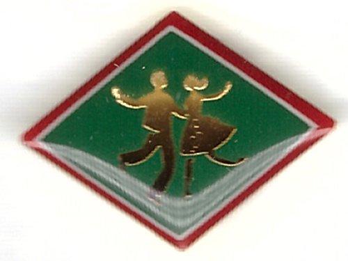 Berentzen - tanzende Menschen - Logo - Pin aus Metall