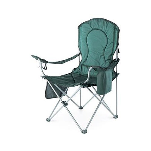 SMR Company Four Seasons Courtyard OCH-TV Oversized Padded-Arm Patio Chair With Cooler