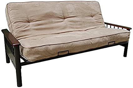 Appleton Cappuccino Full Size Pocket Coil Futon