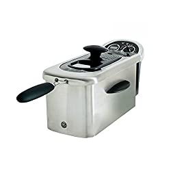 GE 12-Cup 1500-Watt Deep Fryer with Viewing Port and Digital Timer | GE-169219