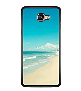 Printvisa Beautiful Seaside Scene Back Case Cover for Samsung Galaxy A9 (2016)::Samsung Galaxy A9 (2016) Duos with dual-SIM card slots