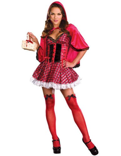 Little Red Sm Halloween Costume - Adult Small