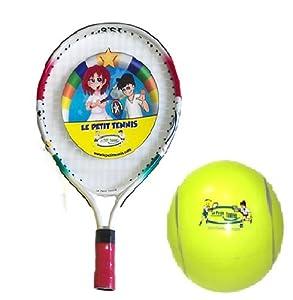 le petit tennis raquette 15 balle gonflable 15cm. Black Bedroom Furniture Sets. Home Design Ideas