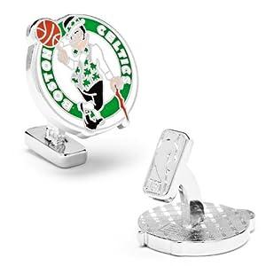 Palladium Boston Celtics Cufflinks by Cufflinks