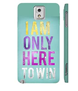 Samsung Galaxy Note 3 Lite The Champion designer mobile hard shell case by Enthopia