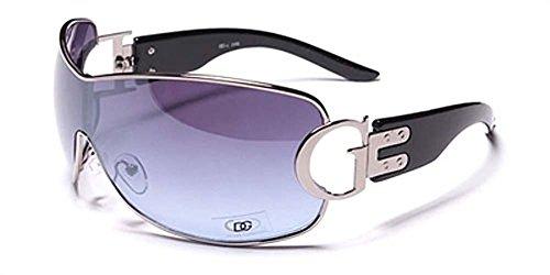 f59b39441a DG Eyewear High Fashion Womens Designer Sunglasses Gafas De Sol (Black    Blue)