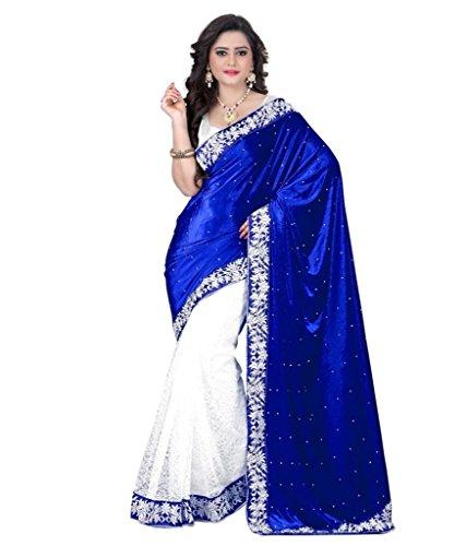Sargam-Fashion-Womens-Velvet-Saree-CHANDANIBLUEVELVETBlue