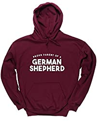 HippoWarehouse a proud parent of a german shepherd unisex Hoodie hooded top