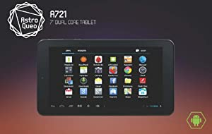 "Astro Queo 7"" Dual Core Android Tablet (8GB Memory, 1GB RAM, Dual Camera, Wifi, A23, 1024x600 7 Inch 5 Point Multi Touch Screen)"