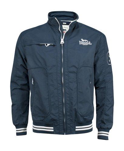 Lonsdale Thomson Giacca Slim Fit Sportiva da Uomo, Colore Blu (Marineblau), Taglia M (Taglia Produttore: 2)