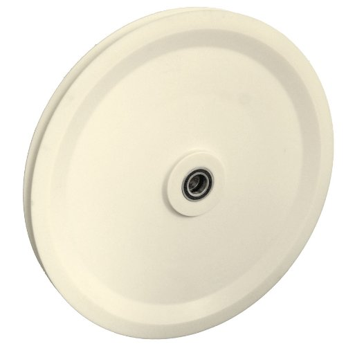 """Isheaves 36-Nr Nylon Sheave (Pulley) 36"""" Root Dia., 40"""" Od, 2"""" Round Groove front-397543"""