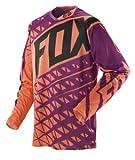 Fox Racing 360 Given Jersey - Small/Black/Orange