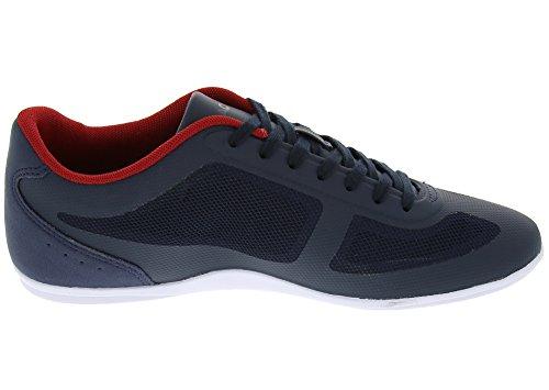 Lacoste Men's Misano Evo 316 1 Spm Fashion Sneaker, Navy, 11 M US