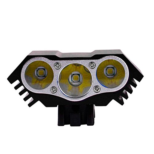 TONSEE 7200Lm 3x CREE XM-L U2 LED Front Bicycle Lamp Bike Light Head (Black) (Is300 Brake Booster compare prices)