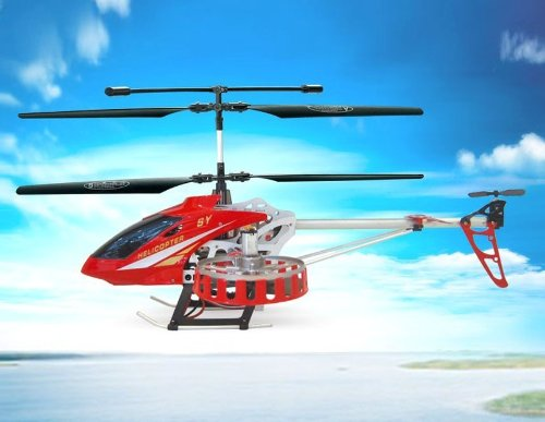 SongYang 8088-48 4-Channel Remote Control Helicopter (Red)