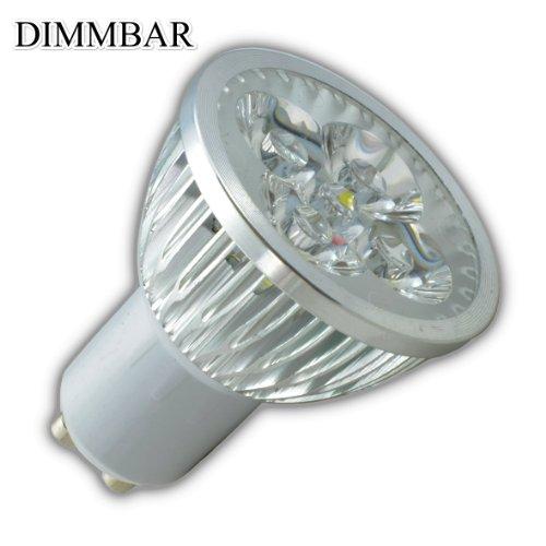 GU10 LED Leuchtmittel Leuchte Lampe 4W DIMMBAR Strahler Warmweiß Licht High Power Deckenleuchte Einbaulampe