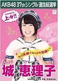 【城恵理子】ラブラドール・レトリバー AKB48 37thシングル選抜総選挙 劇場盤限定ポスター風生写真 NMB48研究生