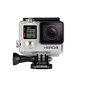GoPro HD Hero4 Silver Edition - International Version (No Warranty)