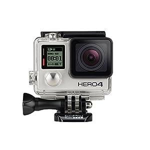 GoPro HERO4 Silver Caméra Embarquée 12 Mpix Ecran tactile Wifi Bluetooth