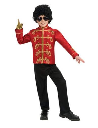 Michael Jackson Military Jacket Md Kids Boys Costume