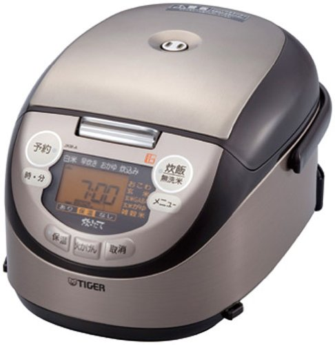 Brown JKM-A550-T cook 3 go TIGER earthenware pot IH rice cooker ...