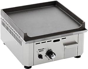 roller gril r psf400g piastra in fusione di alluminio a gas casa e cucina. Black Bedroom Furniture Sets. Home Design Ideas