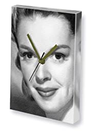 JUDY GARLAND - Canvas Clock (LARGE A3 - Signed by the Artist) #js001