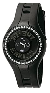 PUMA Women's PU910222002 Blockbuster Circuit Touch Screen Crystal Watch, Black by PUMA