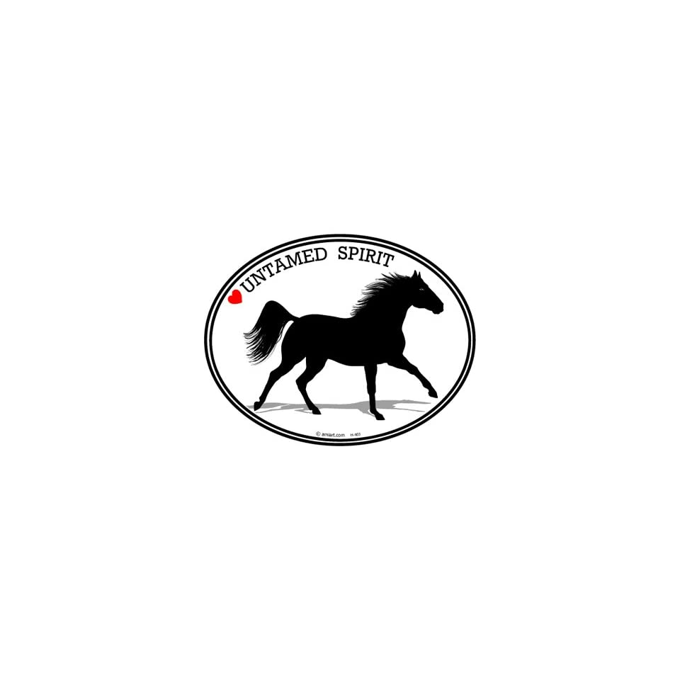 Horse Decal   BARREL RACING   I Love Horses   Bumper Sticker Decal.