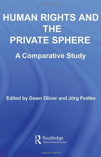 Human Rights and the Private Sphere: A Comparative Study
