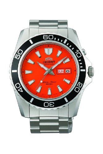 Orient Men's Orange Mako XL 200m Diver's Watch 21 Jewels CEM75001M