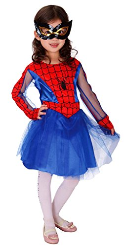 Eyekepper-Classic-Spider-Girl-Cosplay-Costume-Age-3-7-Years