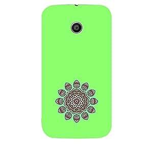 Skin4gadgets Artistically Drawn Mandala Tattoo In Pastel Colors -Medium Spring Green, No.13 Phone Skin for MOTO E 1ST G