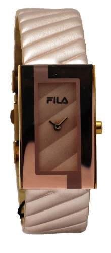 Fila FA0845-91 Prezioso Women's Rose Gold Tone Leather Band Dial Fashion Watch