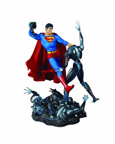 DC Direct Classic Confrontations: Superman vs. Brainiac Statue