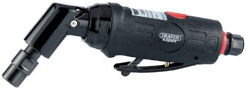 Draper 47564 Expert 6mm Compact Soft Grip Air Angle Die Grinder with 115 Degree Head
