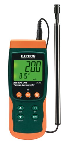 Extech SDL350 Hot Wire Thermo-Anemometer SD Logger