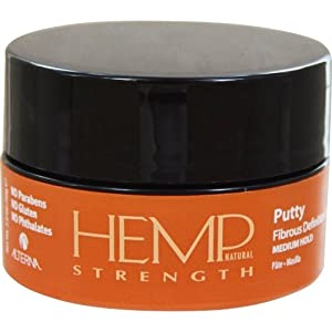 Alterna Hemp NATURAL STRENGTH Putty net wt, 2.0oz/50g