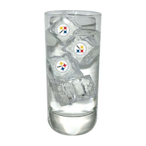 Pittsburgh Steelers 4 Light Up Ice Cube Set