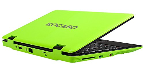 KOCASO 7 Mini Netbook Notebook Laptop WIFI Android 4.0 4GB HD (Grassy)
