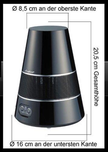 Funk-Boxen-Stereo-Outdoor-Funklautsprecher-Wireless-Spritzwasserfest-Inkl-Fernbedienung-PIANO-SCHWARZ